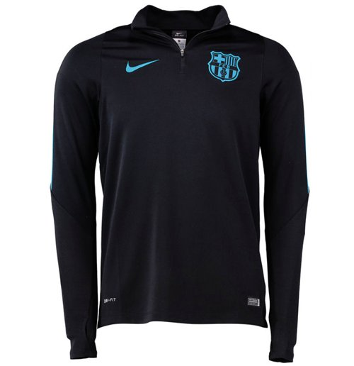 e3e224fa19e6c Compra Suéter Esportivo Barcelona 2015-2016 (Preto) Original