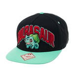 Pokemon Boné Beisebol Snap Back Bulbasaur