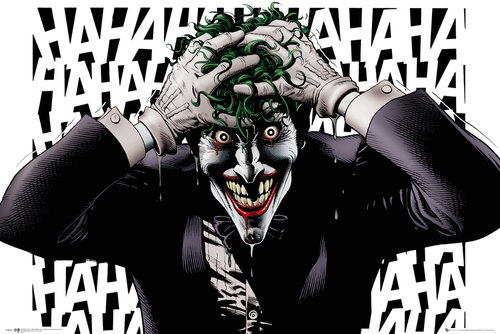 Póster Superhérois DC Comics Killing Joke