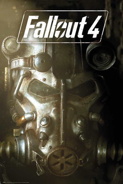 Póster Fallout 4 mask