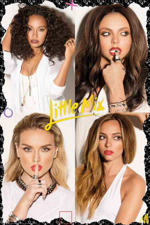 Póster Little Mix Squares