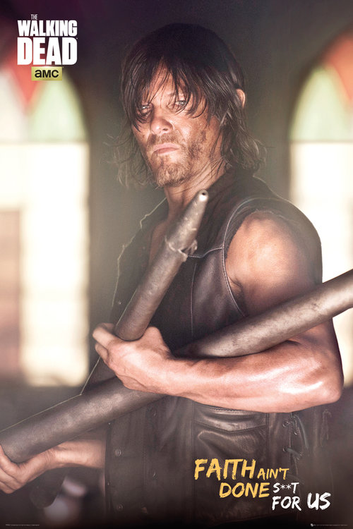 Póster The Walking Dead Daryl Faith