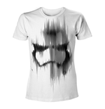 Camiseta STAR WARS VII The Force Awakens Distressed Stormtrooper Small