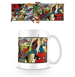 Marvel Comics Caneca Spider-Man Panels