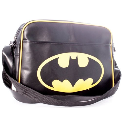 Bolsa Messenger Batman - Logo Black