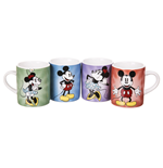 Pack Mini Canecas Disney - Mickey And Minnie