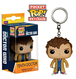 Doctor Who POP! Vinyl Chaveiro 10th Doctor 4 cm