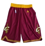 Shorts curto Cleveland Cavaliers