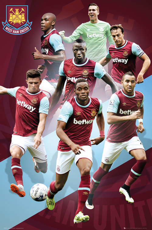 Poster West Ham United 180880
