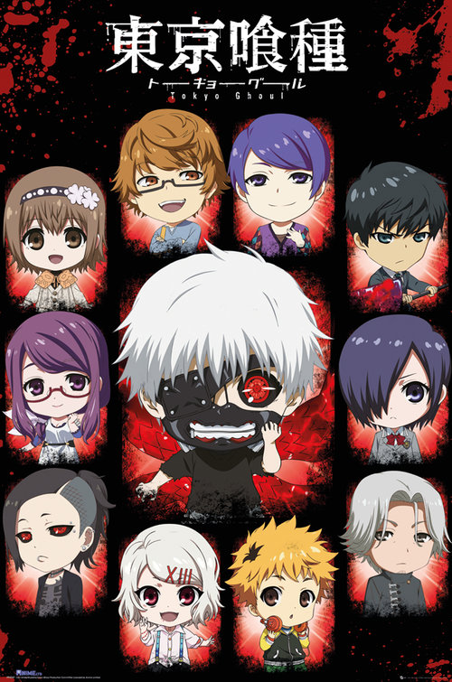 Poster Tokyo Ghoul 181276