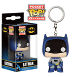 DC Comics Llavero Pocket POP! Vinyl 75th Anniversary Batman Blue 4 cm