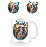 Star Wars Episode VII Caneca Droids