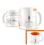 Star Wars Episode VII Caneca X-Wing Fighter