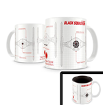 Star Wars Episode VII Caneca Black Squadron