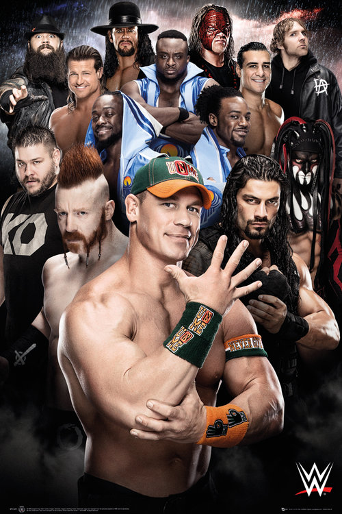 Póster WWE Superstars 2016