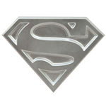 Superman The Animated Series Abridor de garrafas Logo 10 cm