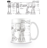 Caneca Star Wars - At At Sketch