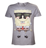 Camiseta Bob Esponja - Grey Sunglasses