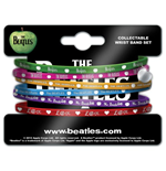 Pack 6 Pulseiras de silicone The Beatles - Apple