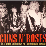 Vinil Guns N' Roses - It's So Easy: Live At The Ritz 1988 Fm Broadcast