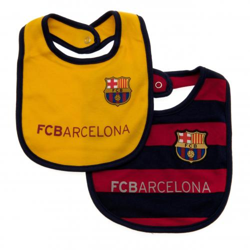 Pack 2 Babadores FC Barcelona