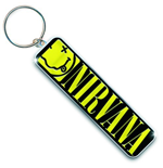 Chaveiro de Metal Nirvana - Smiley Logo