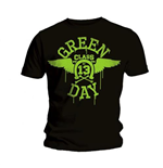 Camiseta Green Day Neon Black