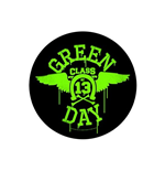 Parche Green Day Neon Wings