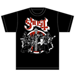 Camiseta Ghost Road to Rome