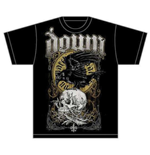 Camiseta Down Swamp Skull