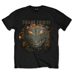 Camiseta Disturbed Fire Behind