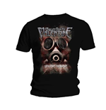 Camiseta Bullet For My Valentine Temper Temper Gas Mask