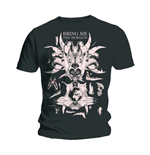 Camiseta Bring Me The Horizon Skull & Bones