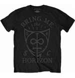 Camiseta Bring Me The Horizon Hand Drawn Shield