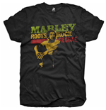 Camiseta Bob Marley Roots, Rock, Reggae