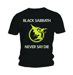 Camiseta Black Sabbath Never Say Die