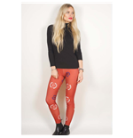 Legging Avenged Sevenfold de mulher - Design: Death Bat