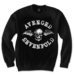 Suéter Esportivo Avenged Sevenfold de homem - Design: Death Bat