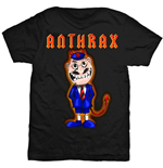 Camiseta Anthrax TNT Cover