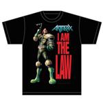 Camiseta Anthrax I am the Law