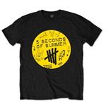 Camiseta 5 seconds of summer Scribble Logo