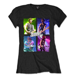 Camiseta 5 seconds of summer Live in Colours de mulher