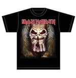 Camiseta Iron Maiden Eddie Candle Finger