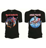 Camiseta Iron Maiden Euro Tour