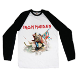 Camiseta manga longa Iron Maiden Trooper