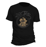 Camiseta ZZ Top Outlaw Village