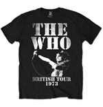 Camiseta The Who British Tour 1973
