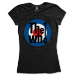 Camiseta The Who de mulher Target Classic