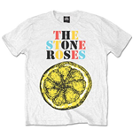 Camiseta Stone Roses Logo Lemon Multicolour
