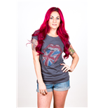 Camiseta The Rolling Stones Classic UK Tongue de mulher
